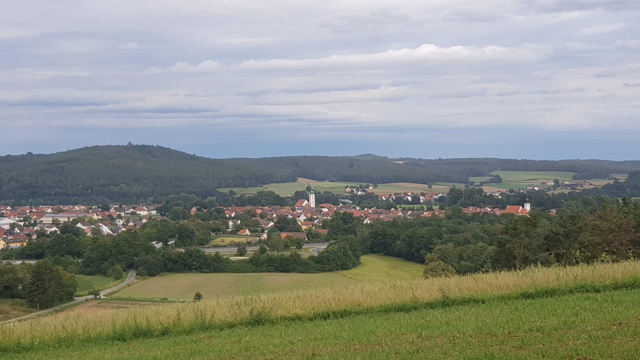 Pfreimd vom Schlossberg